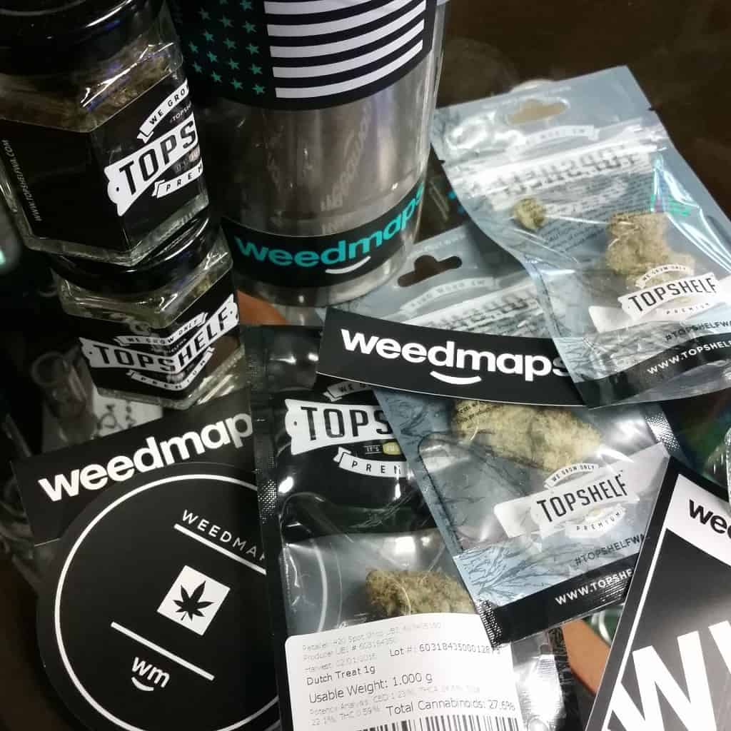 Top Shelf Cannabis and Weedmaps